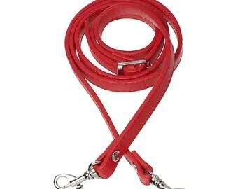 Red handbag shoulder - fastener hook-1.2 m SC71439-