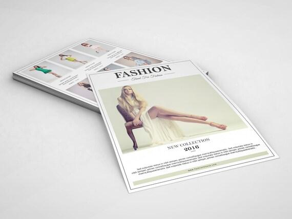 Mode Produkt Display Flyer