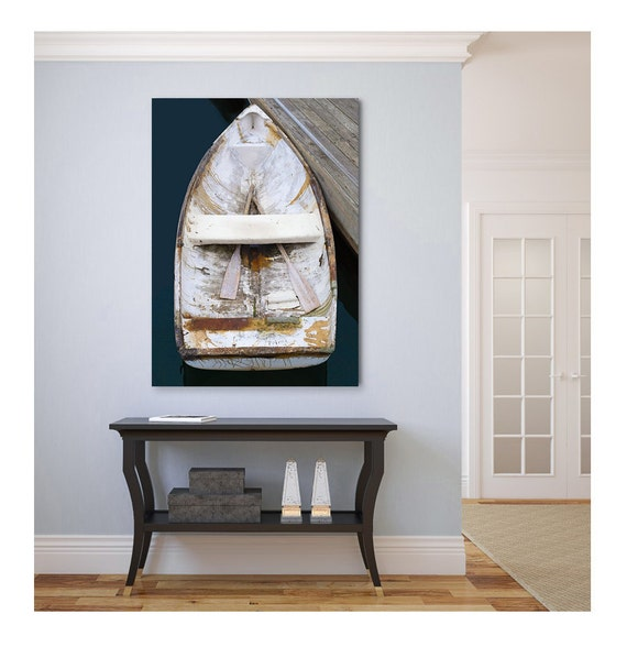 Beautiful Boat Canvas Print Nautical Wall Decor Large Wall Art