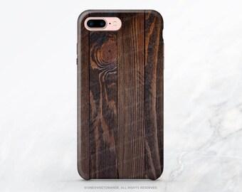 iPhone 8 Case iPhone X Case iPhone 7 Case Men's Wood Print iPhone 7 Plus Case iPhone SE Case Tough Samsung S8 Plus Case Galaxy S8 Case I1d