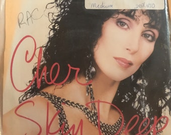 Cher Skin Deep and Perfection 1988 45 Vinyl LP