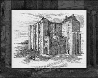 Poster, Many Sizes Available; Castle Rising, Illustrated In Cassell'S History Of England Circa 1902