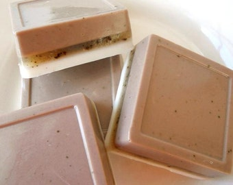 Brewed Coffee Exfoliating Soap/ Gardener's Soap/ Homemade Soap/ Kitchen Soap