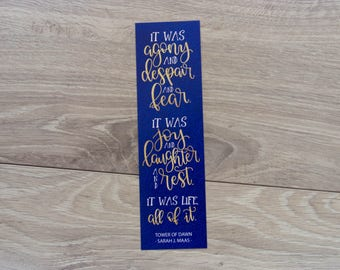 It Was Life - Bookmark