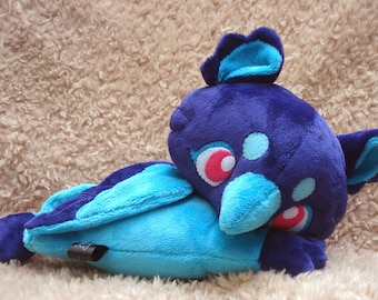 Purple and Blue Baby Griffin Plush Doll
