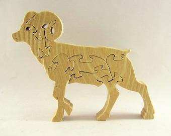 Bighorn Sheep Puzzle