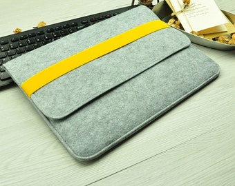 "Felt Macbook Air 11 inch Case , 11 inch Macbook Air Case , Macbook 11"" Case , Macbook 11 Case, Macbook 11 inch Case BN005"