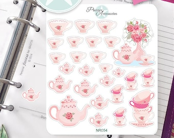Sticker Tee Kanne Erin Condren, Happy Planner, Filofax, Kikki K -NR054