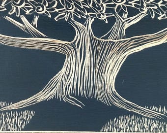 Flowering tree art, tree in flower, Tree Art, Tree in Wood
