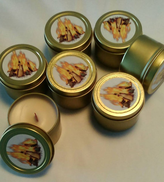Samples - Crackling Soy Wax Wood Wick Samples - 2 oz