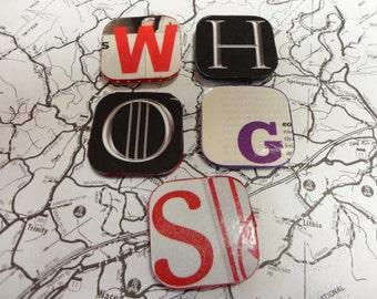 Letter Magnet Set of Five