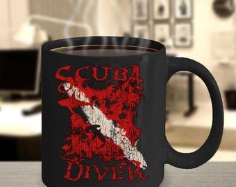 Scuba Diving Coffee Mug - Scuba Mug