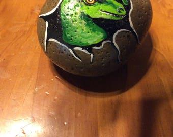 Dinosaur egg rock