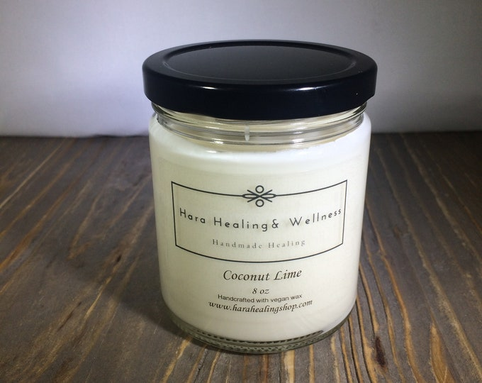 Featured listing image: Cruelty Free , Vegan Candles, Organic Soy Candles, Home Fragrance, Essential Oil Candle, Vegan Gifts, handmade, made in Denver