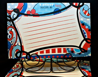 4x6 Snappy Happy Dr. Seuss Recipe Cards (Package of 25)