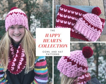 The Happy Hearts Collection Crochet Patterns 2 PATTERNS