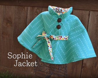 Childrens Coat PDF Sewing Pattern