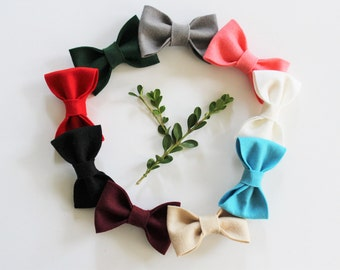 Big hair bows - Hair Bow Sets - Hair Accessories - The Clementine Bow