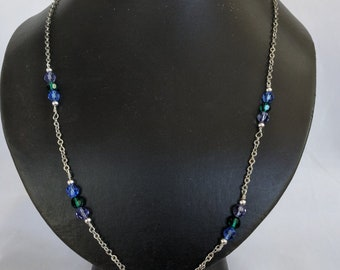 Mother's Day Crystal Birthstone Necklace