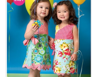 McCall's M7143 Toddlers' and Children's Dress - Size 4-5-6