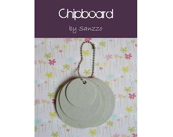 Mini Album multi-ronds chipboard for your creations