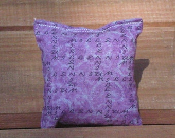 Purple Organic Catnip Pillow Toy