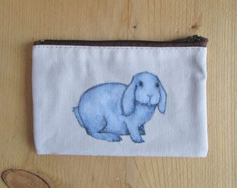 Lop Eared Rabbit Coin Purse