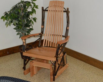 Hickory Porch Glider - Single Glider Chair