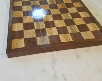 Hardwood Chess Board (made to order)