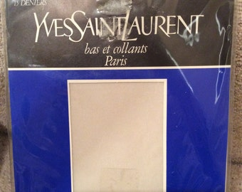 Vintage YSL sheer tights