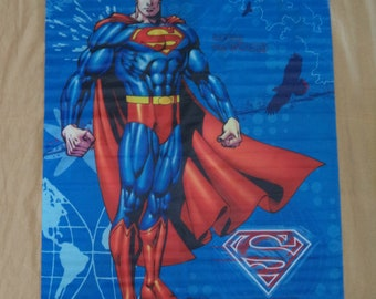 Superman  Textile  Posters    Vintage  Collector items   Movie Poster  Film Poster