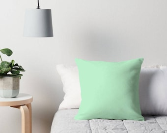 inspiration bedroom pillows green throw coral mint decor bedding the decorative and