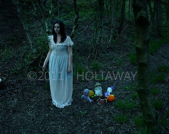 Fine art photography, on forex, limited edition, woodland lady- 'Wander'