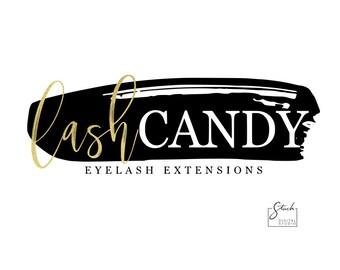 Lash Logo Design - Eyelash Logo - Makeup Artist Logo - Cosmetic Logo - Beauty Logo - Eyelash Extension Logo - Lash Artist Logo