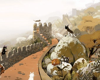 Castle of the Moors Cats
