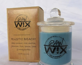 Rustic & luxury candle