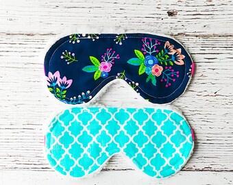 Sleep Mask - Sleeping Mask - Gifts for Her - Eye Mask - Teacher Giftss  - Flower Sleep Mask - Birthday Gifts - Women's Gifts