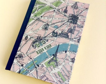 Paris Travel Journal with Pockets