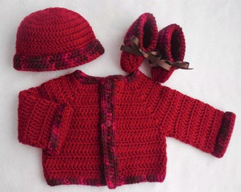 baby boy sweater, crochet baby sweater set, baby sweater, baby crochet sweater boy, handmade sweater baby, baby cardigan, crochet baby set