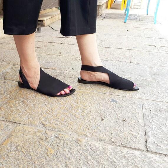 6769863635a3e ... sandals Slingbacks Flat Woman Shoes Shoes Una Woman Sandals Shoes flat  shoes Comfortable Israel Sandals Leather ...
