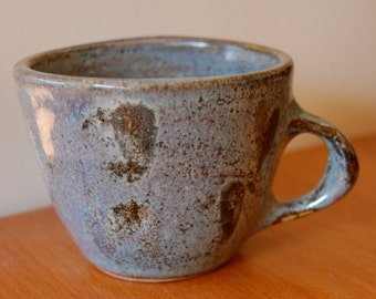 Stone Blue Two Finger Mug