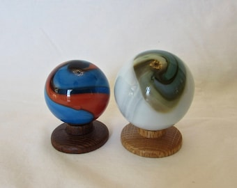 Art Glass Marbles - Blown Glass Handmade