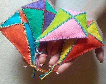 Kite catnip toy/Cat toy/Cat nip/Felt cat toy