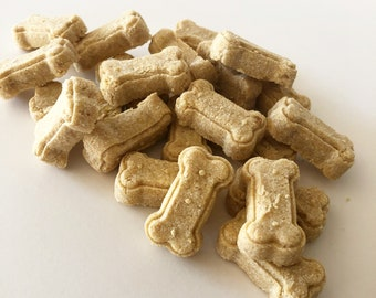 Peanut Butter & Apple Biscuits, Organic, Grain+Gluten Free Dog Treats