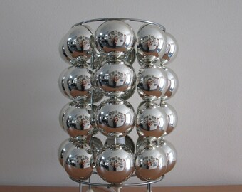 Chrome Space Age Table light sphere lamp