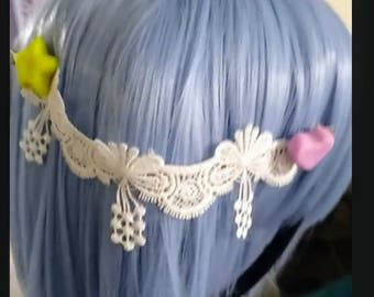cute 2 pin hair clip