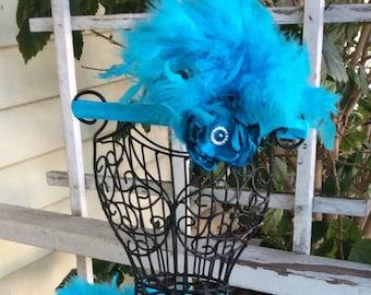 Turquoise tutu, newborn tutu, feather skirt, tutu skirt, tutu, photo prop, baby clothing, princess tutu, angel tutu, baby photo prop, baby