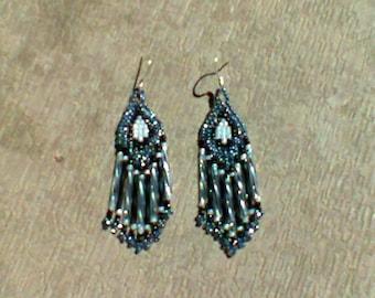 Chandelier beaded earrings