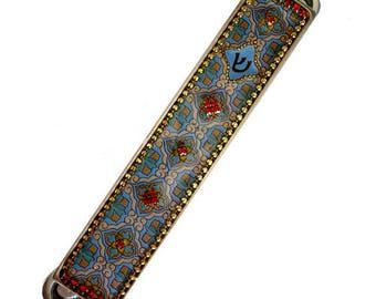 Mezuzah - Mezuzah Case - Mezuzah Cover - Mezuzah gifts - Judaica - Judaica Gifts - Jewish Wedding Gifts - Jewish Gifts - Jewish Art