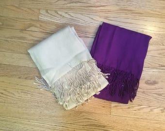 VintageWool, WoolWraps, Wrap, Merinowolle, Schals, Schal, PurpleWool, YellowWool, asiatisch, Wraps, Wolle, LightJacket, ShoulderCover, Merino, Licht, AsianWrap,